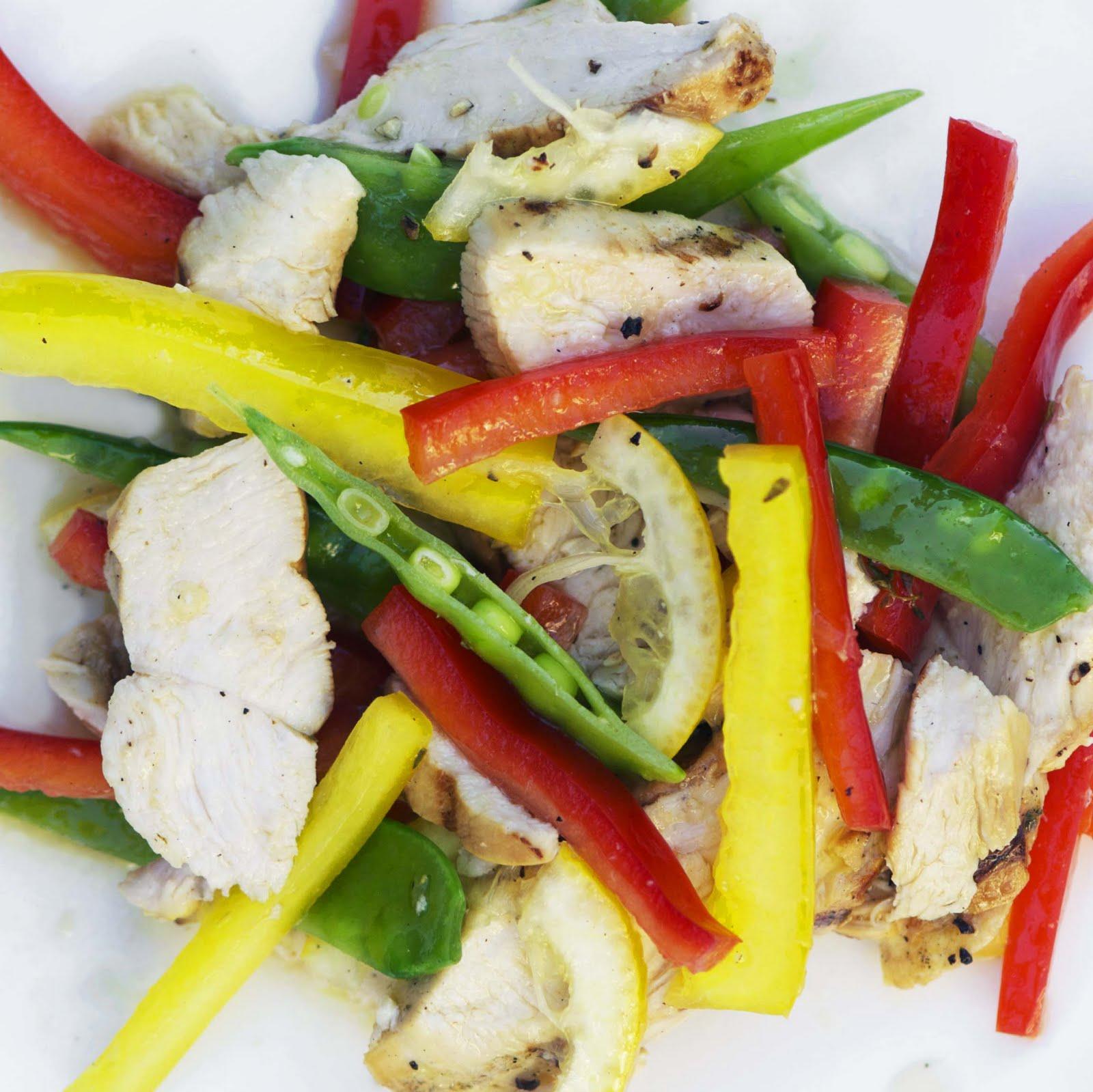 the walsh cookbook grilled lemon chicken salad erin