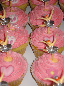 Ballerina Cupcakes