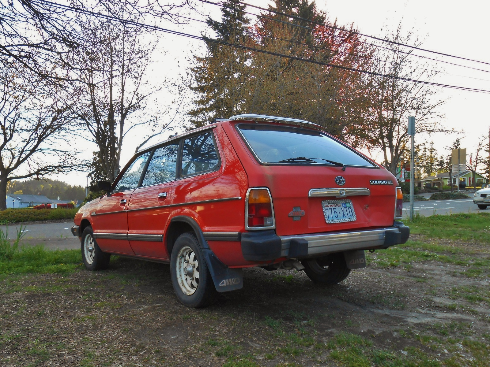 Used Cars Seattle >> Seattle's Parked Cars: 1982 Subaru GL Wagon