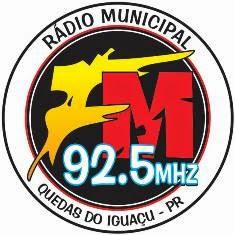 Rádio Municipal FM de Quedas do Iguaçu PR ao vivo