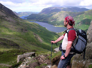 Enjoying the descent into Buttermere