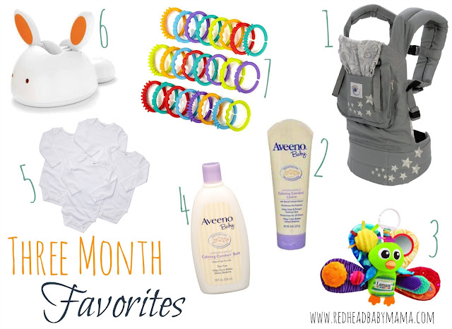 Baby Registry List for Three Months Old