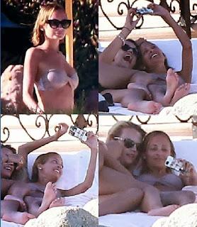 Nicole Richie Bikini 32nd birthday Mexico