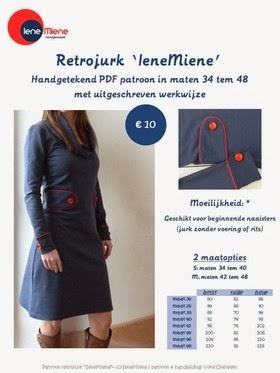 PDF patroon retrojurk IeneMiene