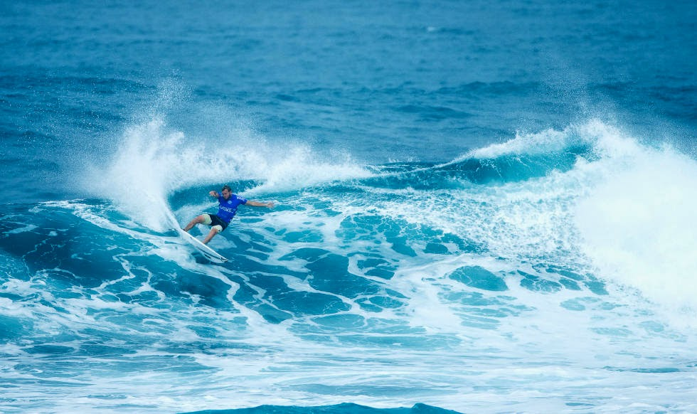 11 Vans World Cup of Sufing 2014 Dusty Payne Foto ASP