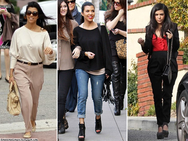 Estilo Kourtney Kardashian, Kourtney Kardashian, Kourtney Kardashian calças, Kourtney Kardashian calça, Kourtney Kardashian casual