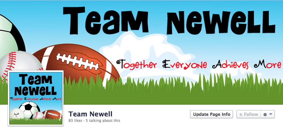 Team Newell Facebook