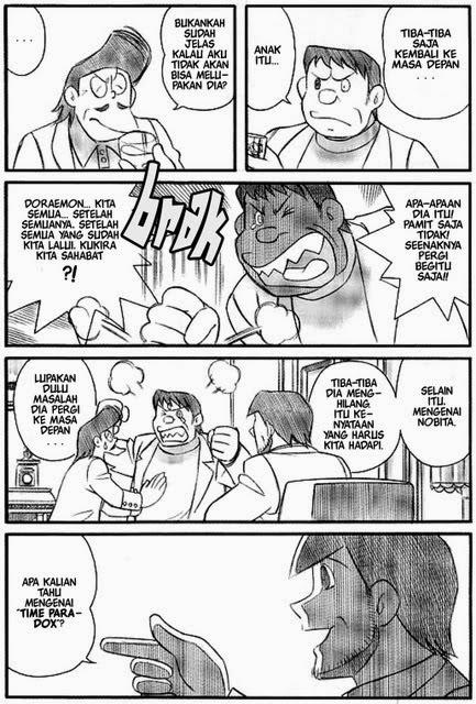 Episode Terakhir Doraemon Full Gambar Berbentuk Komik