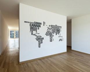 Arredare Con Le Cartine Geografiche Architettura E