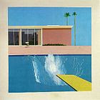 pop ART - David Hockney, 1967 A Bigger Splash