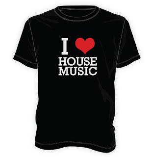 Koszulka I love house music