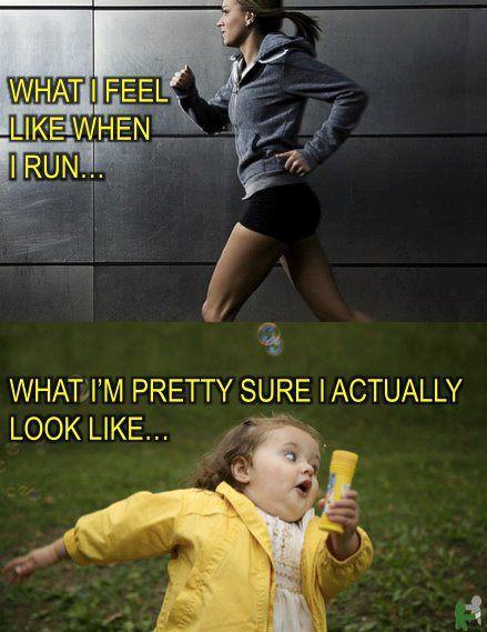 Jogging - Expectation vs Reality