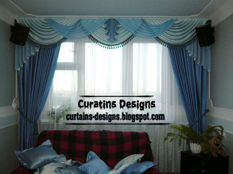 Curtain designs - Modern curtain ideas for living room ...