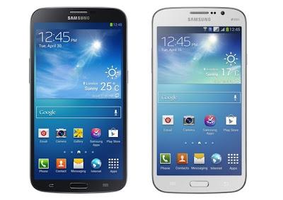 Samsung Galaxy Mega 5.8 and 6.3