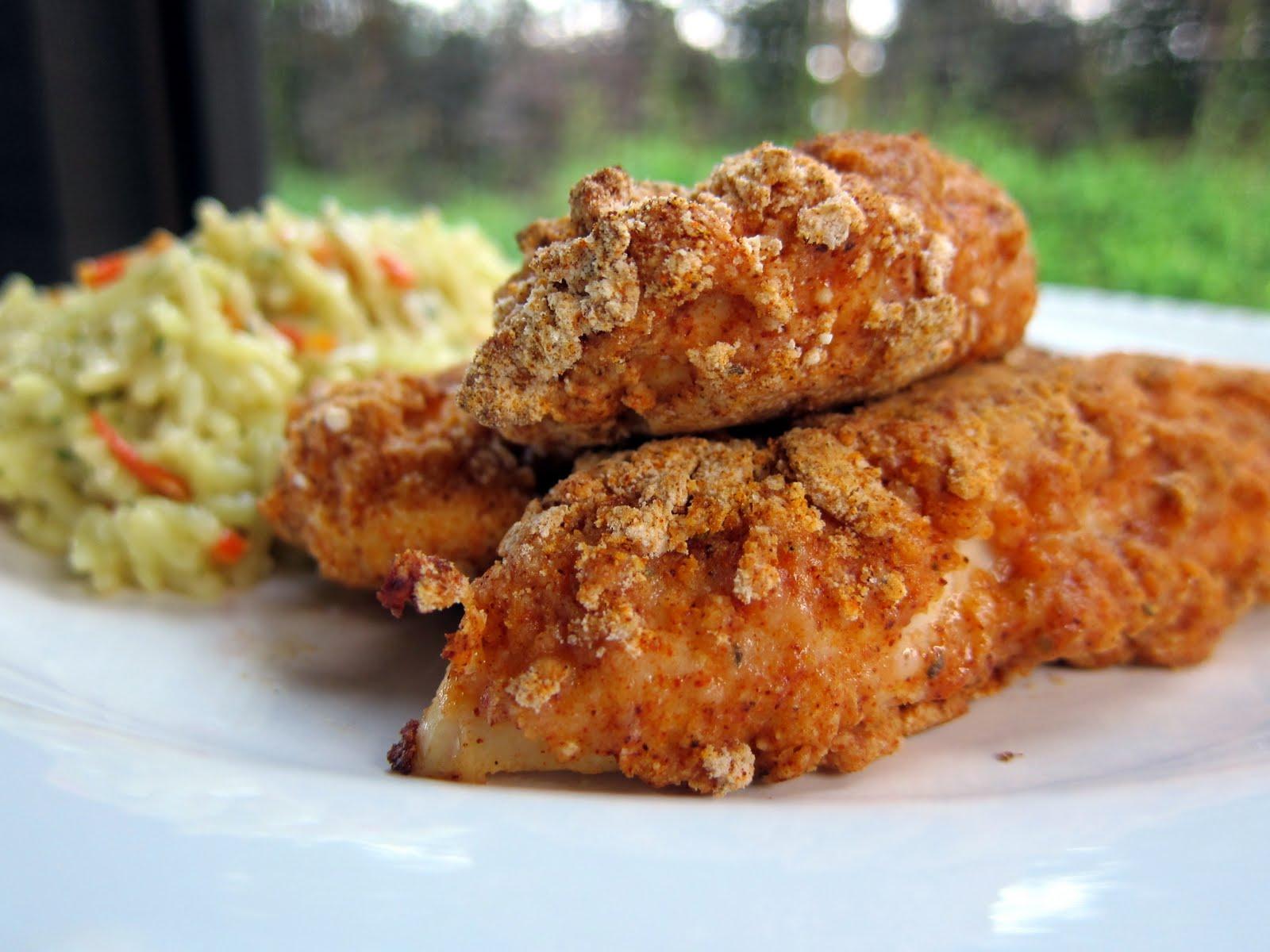 Spicy Chicken Fingers | Plain Chicken