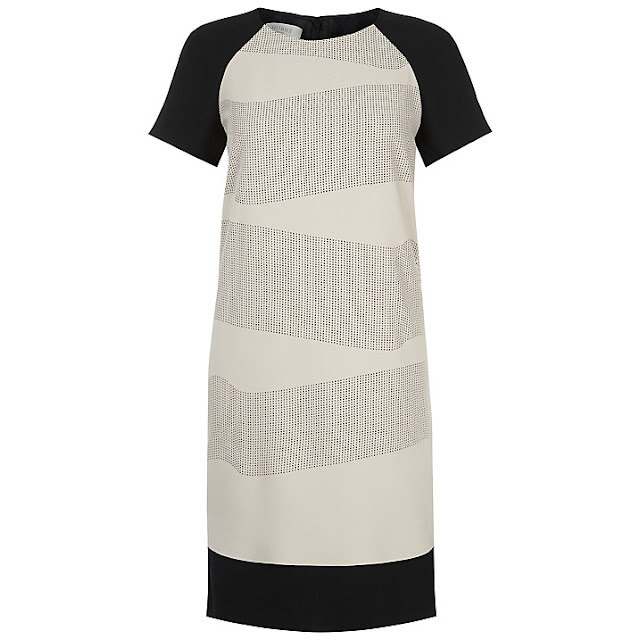 hobbs cream dress