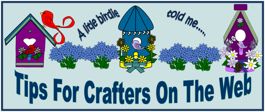 Tips For Crafters On The Web