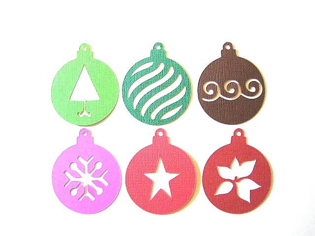 hang them on the tree as is or place a solid ornament behind them to enhance the decorative shape imagine how gorgeous they would be if you added a little