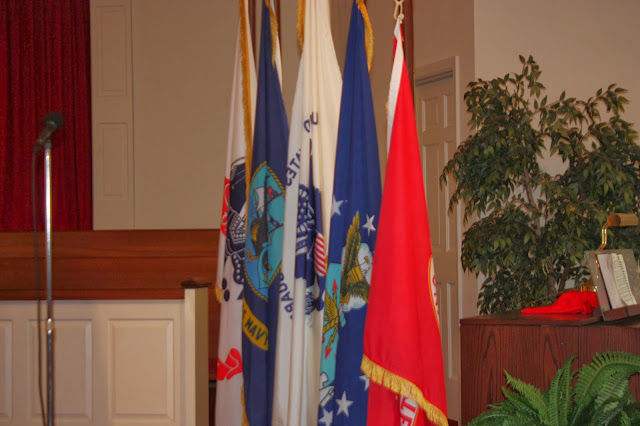 Military branch flags