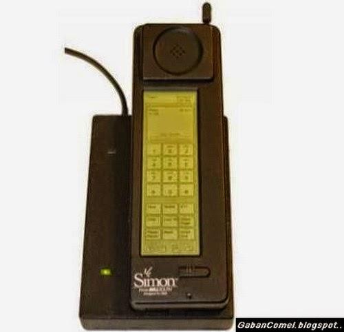 Inilah Telefon Bimbit Skrin Sentuh Yang Pertama Dicipta di Dunia