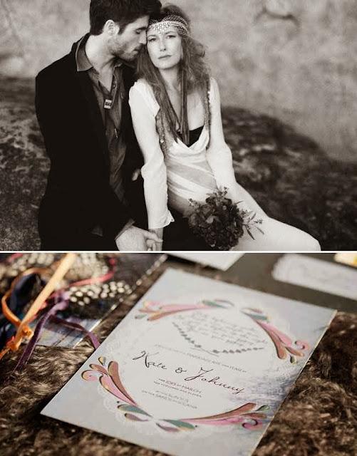 boda bohemia chic