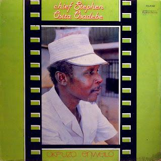 Chief Stephen Osita Osadebe - Okp'uzo Enweilo,Polygram Records 1982