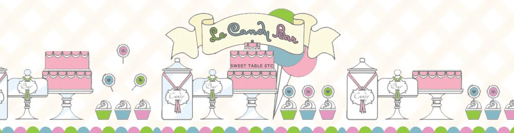 Le Candy Bar - Sweet Table etc