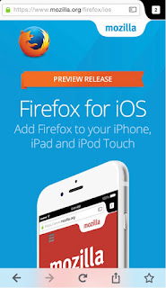 Mozilla releases first public preview of Firefox for iOS