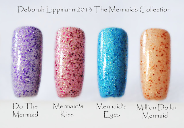 Deborah Lippmann Spring/Summer 2013. THE MERMAIDS COLLECTION!