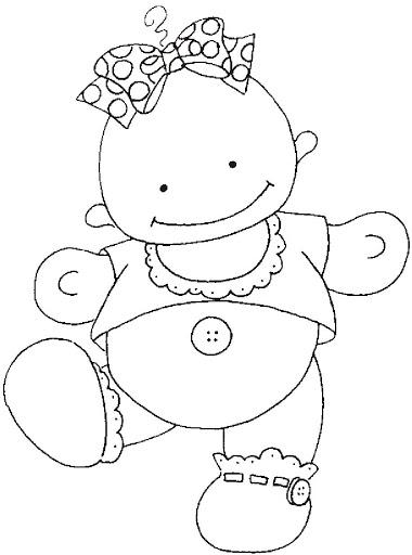 Dibujos y Plantillas para imprimir: Dibujos para tarjetas de Baby ...