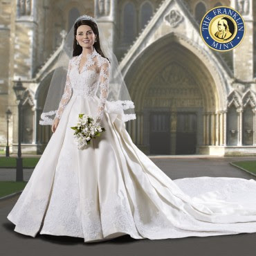 Kate Middleton Doll - Royal Wedding Vinyl