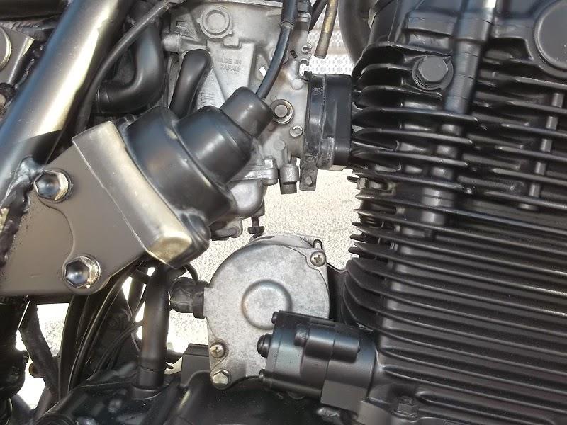 Montar piezas en la moto