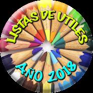 LISTAS DE UTILES 2018