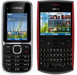 Nokia C2-01 and X2-01 launched
