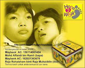 Hope 2 Walk - Membantu Untuk Si Kecil Ini..