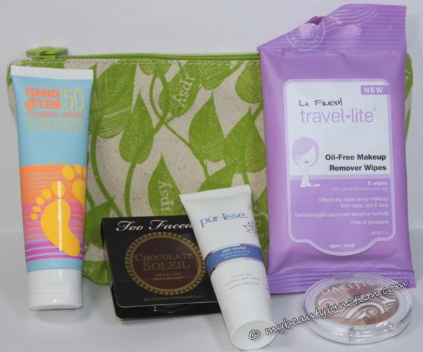 Ipsy beauty bag may 2014 unboxing, review, contente