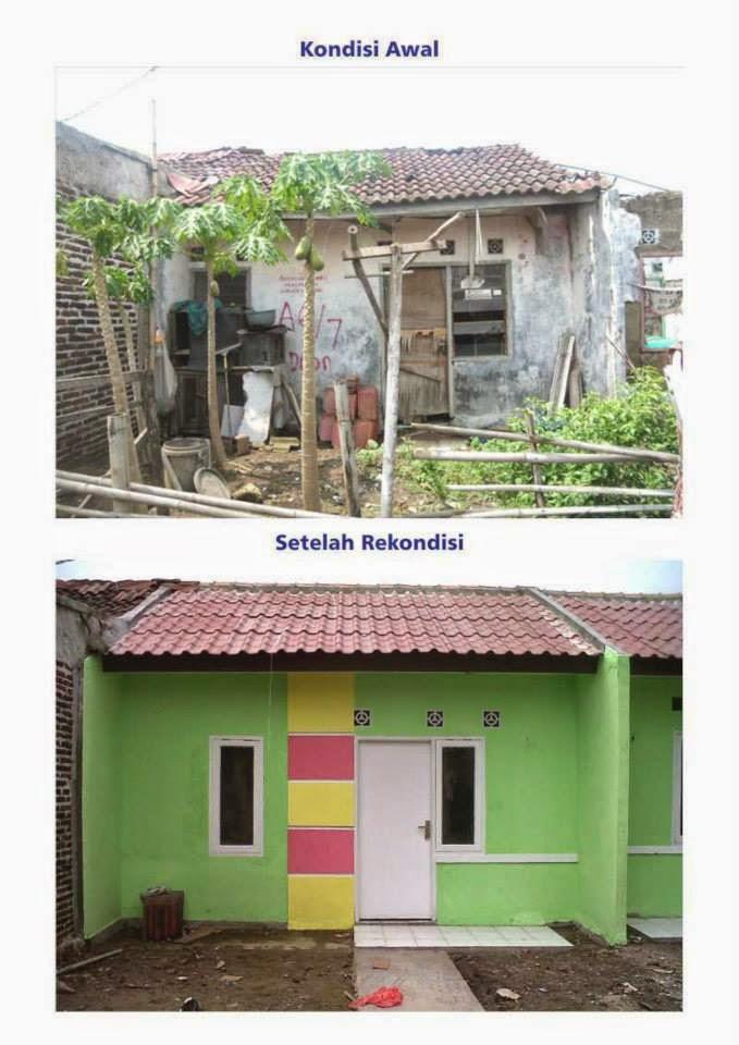 Rumah Subsidi Unit Rekondisi Tambun Bekasi