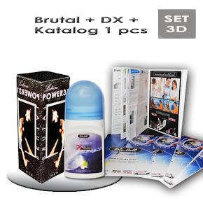 Kod: SET-3D (Harga: RM72 + PERCUMA POS)