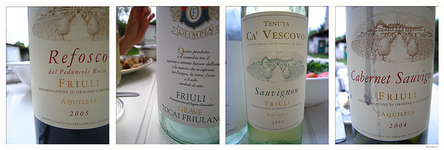 Native wines of Friuli