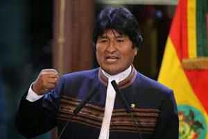 Abrumador triunfo de Evo Morales