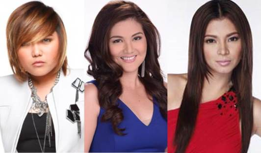 Angel Locsin, Dimples Romana and Charice's Confessions on SIR (June 8)