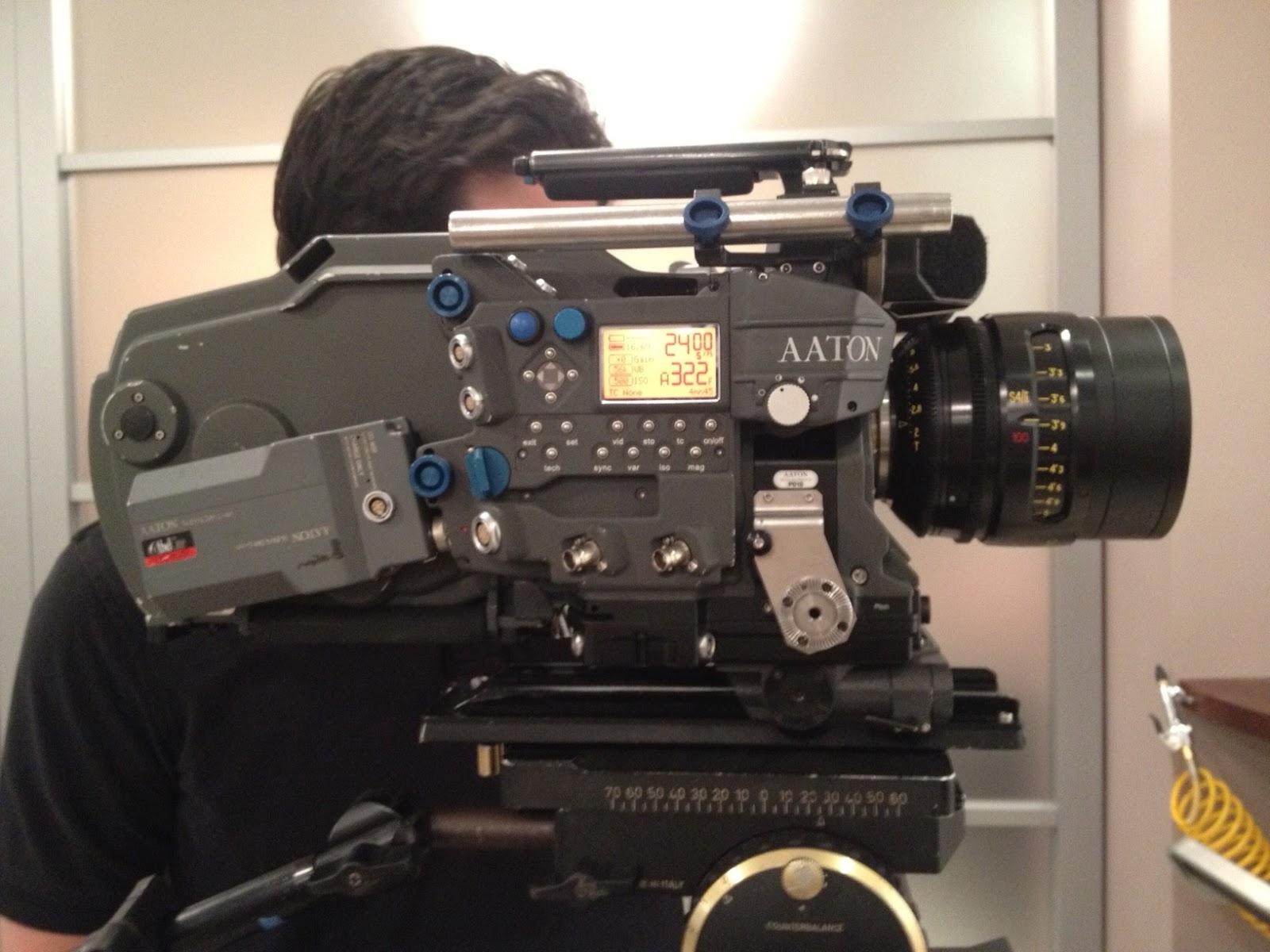 The Aaton Penelope 35mm Camera