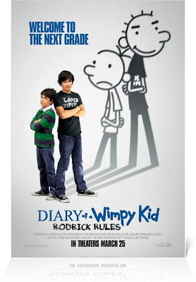 Diary Of A Wimpy Kid Rodrick Rules Movie Poster