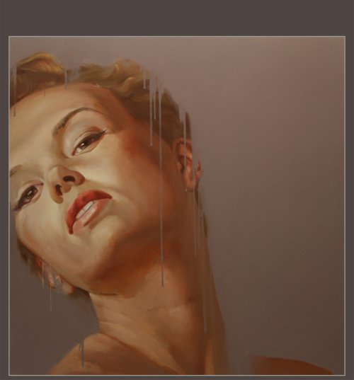 Yury Darashkevich pinturas eróticas mulheres nuas