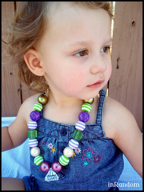 chunky necklace for children