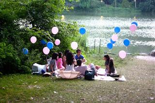 festa de aniversário no parque