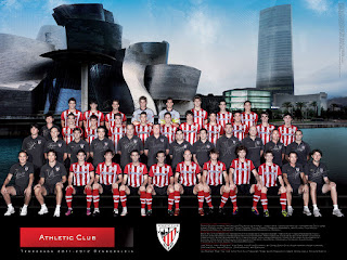 Poster oficial del Athletic Club (Temporada 2011-12)