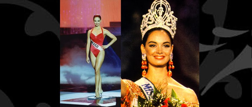 "MISS UNIVERSO 1991 - MARIA GUADALUPE ""LUPITA"" JONES GARAY"