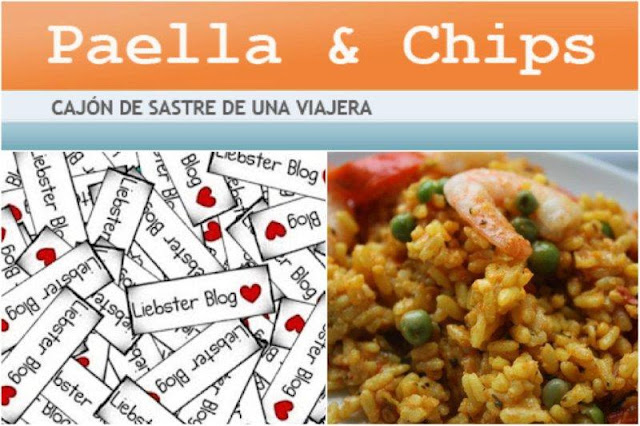 Paella and Chips gana un Premio Liebster, Liebster Blog Award