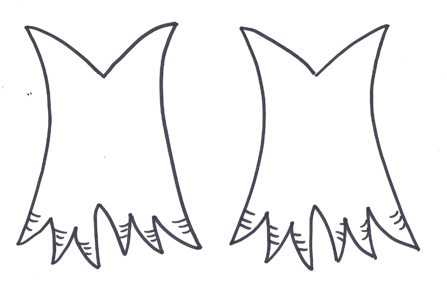 turkey foot template
